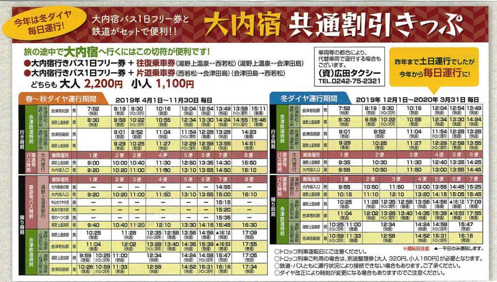 福島交通:大內宿怎麼去?交通攻略(含公車實搭詳細說明) @右上的世界食旅